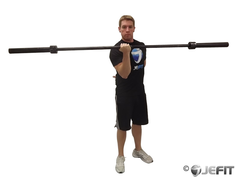 Barbell One Arm Bicep Curl