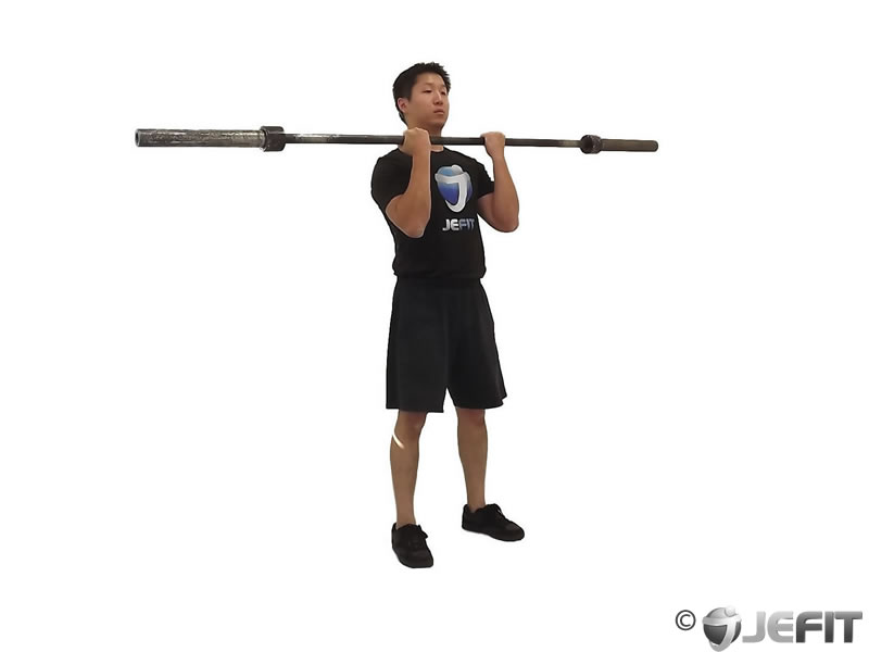 Barbell Bicep Curl with Deadlift