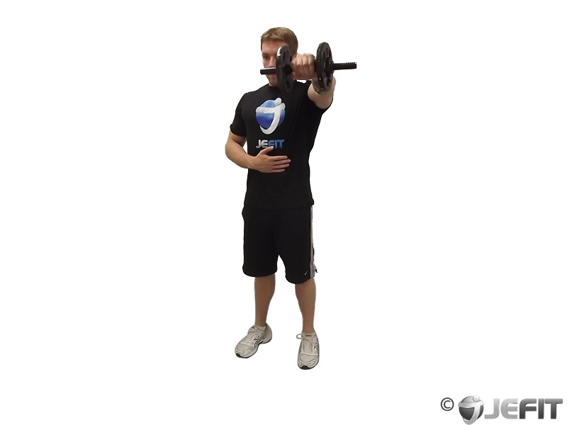 Dumbbell Shoulder Front Raise