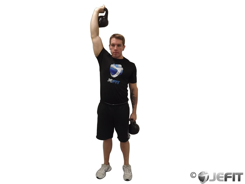 Kettlebell Double Windmill
