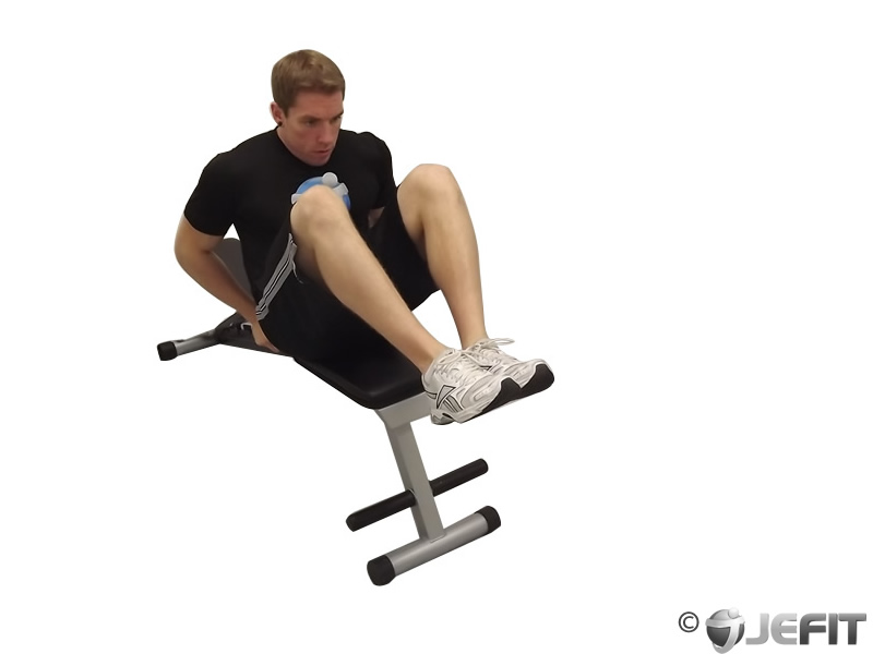 Seated Flat Bench Leg Pull In Exercise Database Jefit