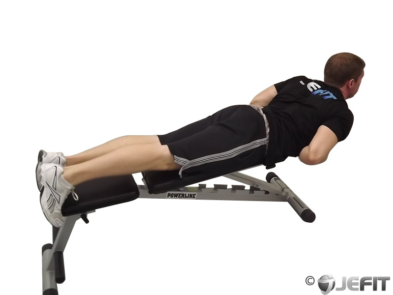 Hyperextensions With No Bench Exercise Database Jefit