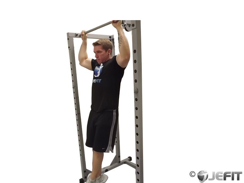 Rocky Pull Ups and Pulldowns