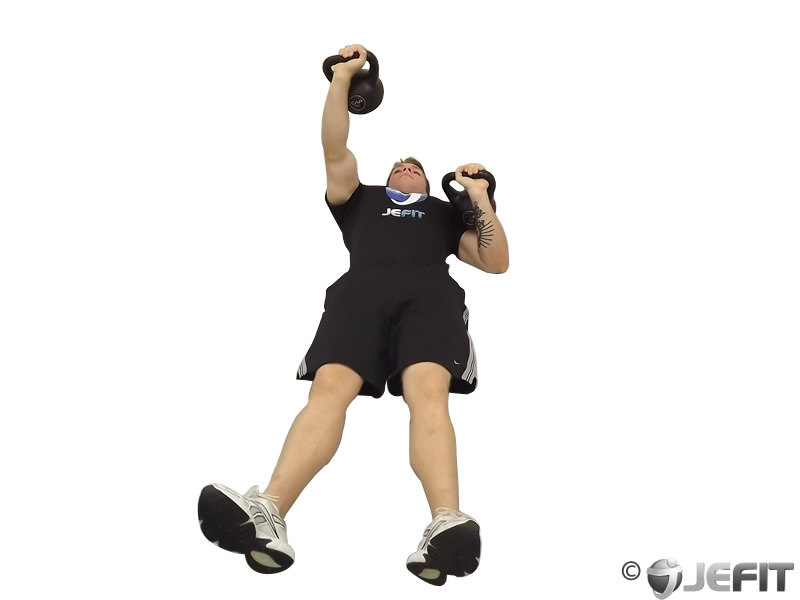 Kettlebell Alternating Floor Press