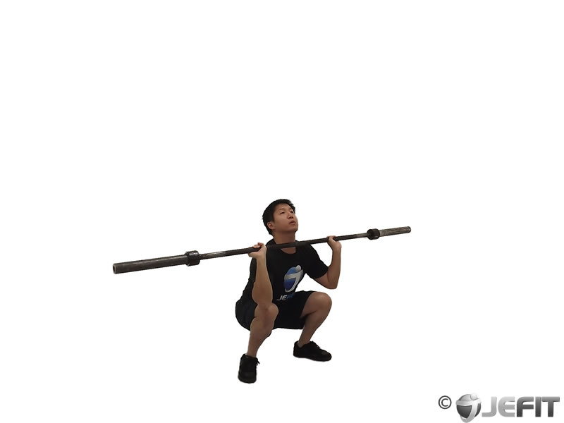 Barbell Clean and Jerk