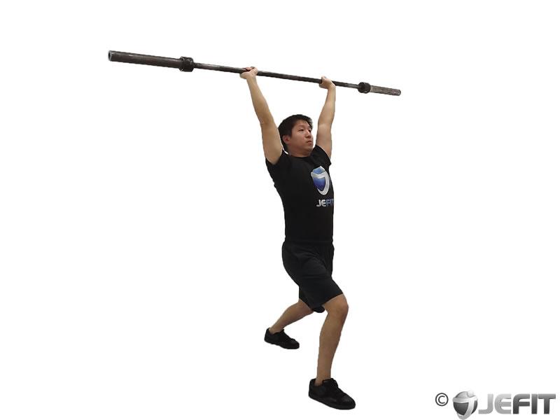 Barbell Clean And Jerk Exercise Database Jefit Best