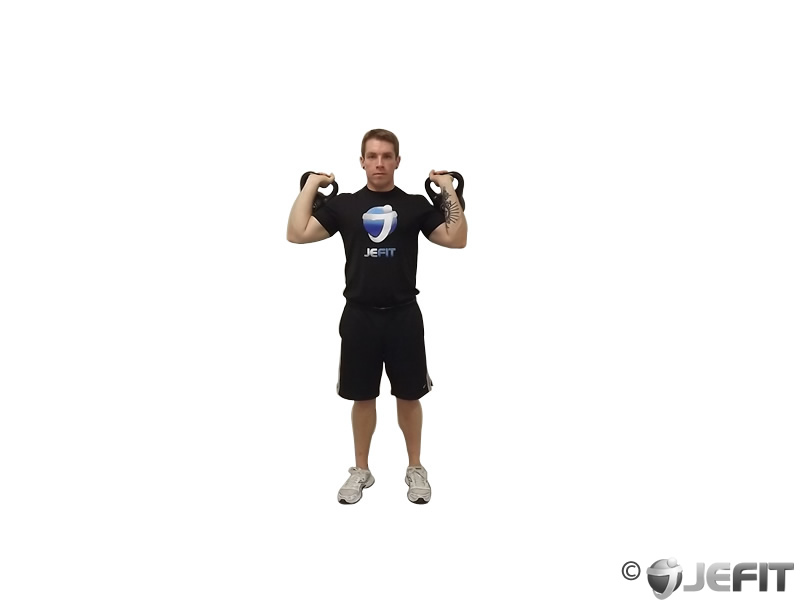 Kettlebell Double Jerk