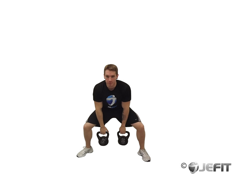 Kettlebell Double Snatch