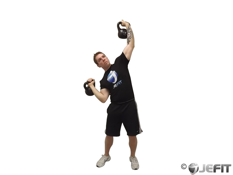 Kettlebell Seesaw Press