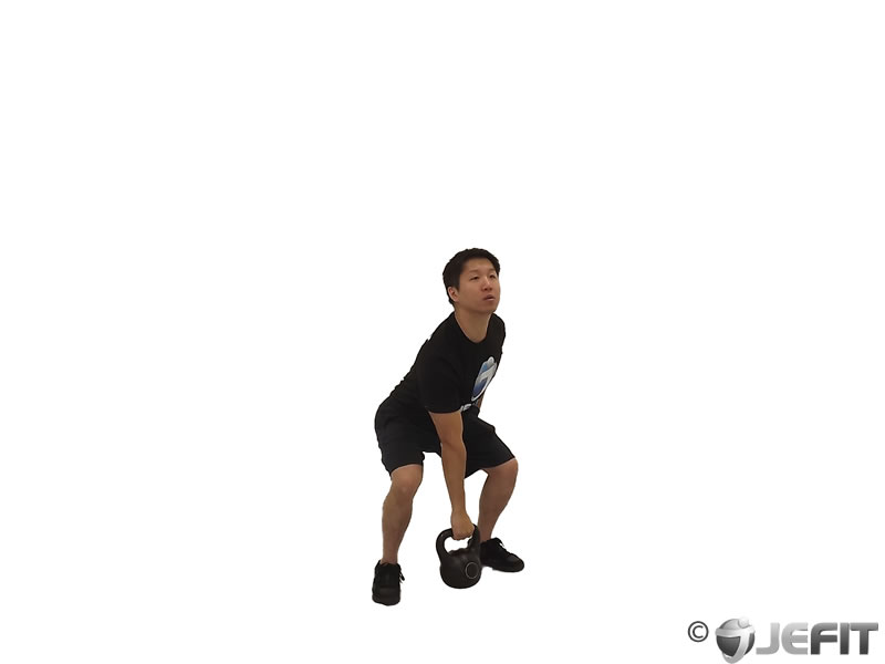 Kettlebell One Arm Clean And Jerk