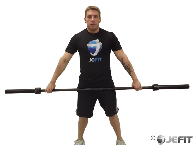 Barbell Snatch Shrug