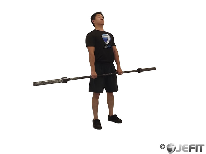 Barbell Clean Deadlift
