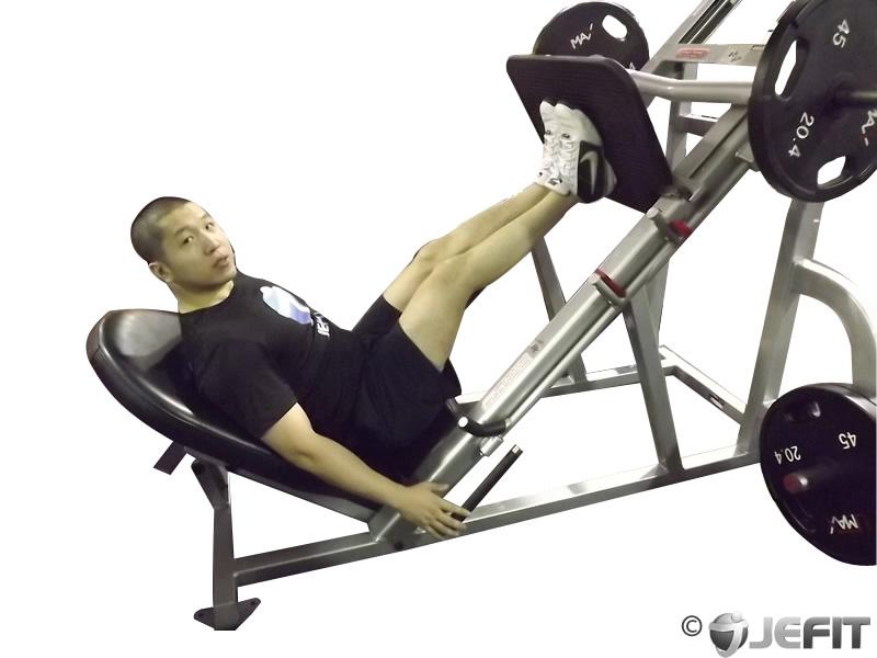 Leg Press with Narrow Stance - Exercise Database | Jefit