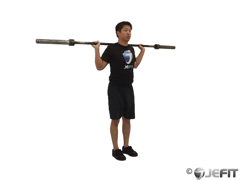 Barbell Squat with Narrow Stance