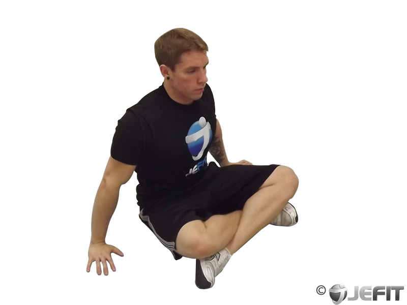 Cross Legged Twist