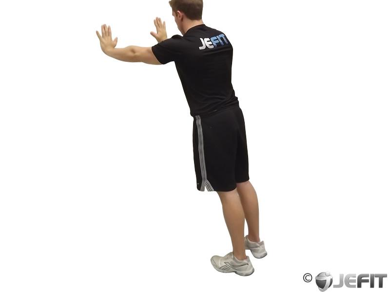 Bodyweight Standing Calf Raise - Exercise Database | Jefit ...