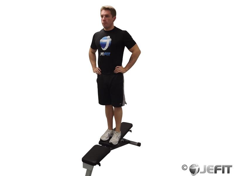 Side Step Up - Exercise Database | Jefit - Best Android ...  Side Step Up - ...