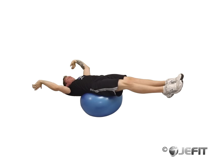 Exercise Ball Reverse Crunch Exercise Database Jefit