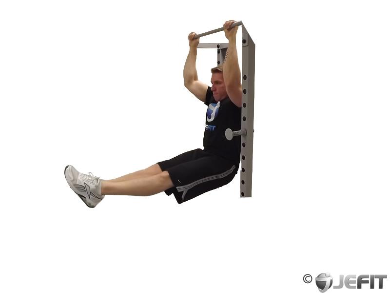 hanging leg raise - exercise database