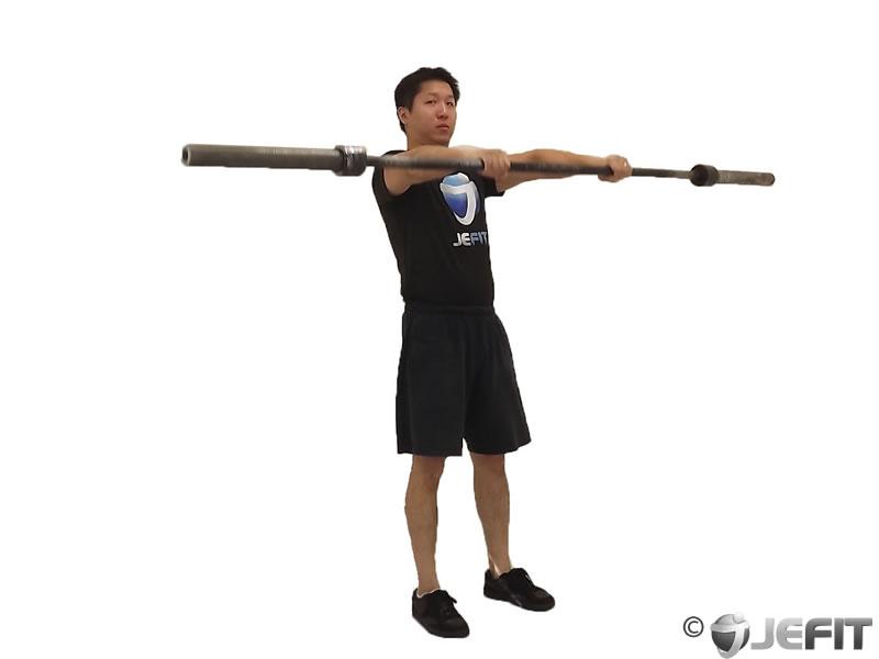Barbell Front Raise Exercise Database Jefit Best