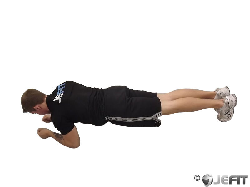 Plank with Side Kick