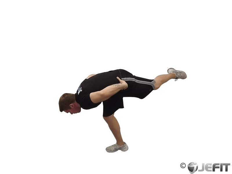 Stork Stance Exercise Database Jefit Best Android