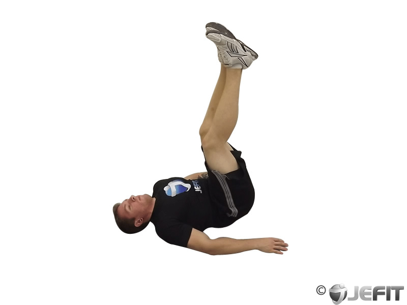 Two Legged Supine Knee to Chest