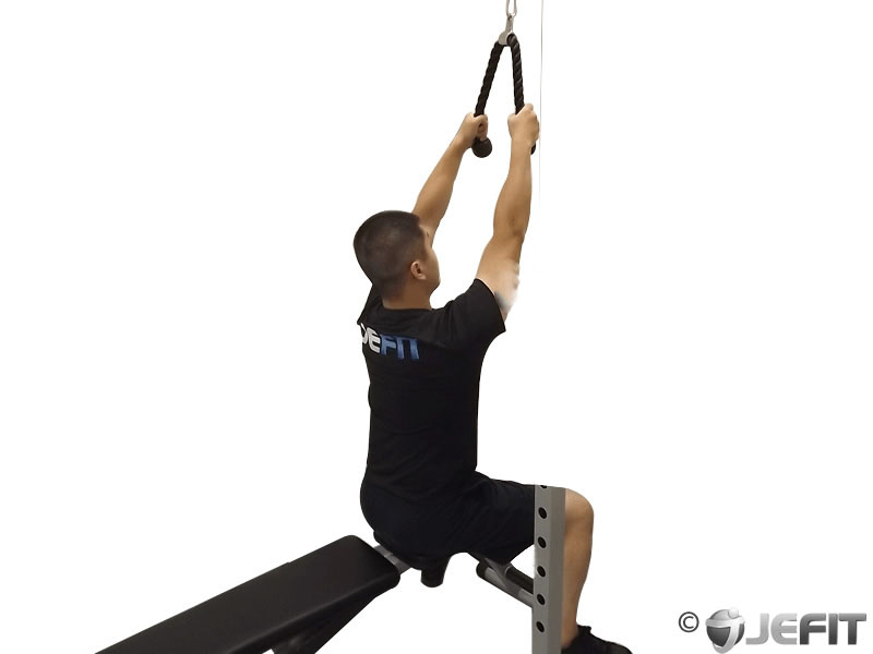 Narrow Grip Lat Pull Down