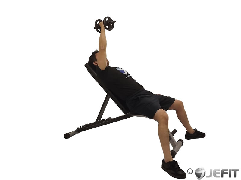 Dumbbell Incline One Arm Fly