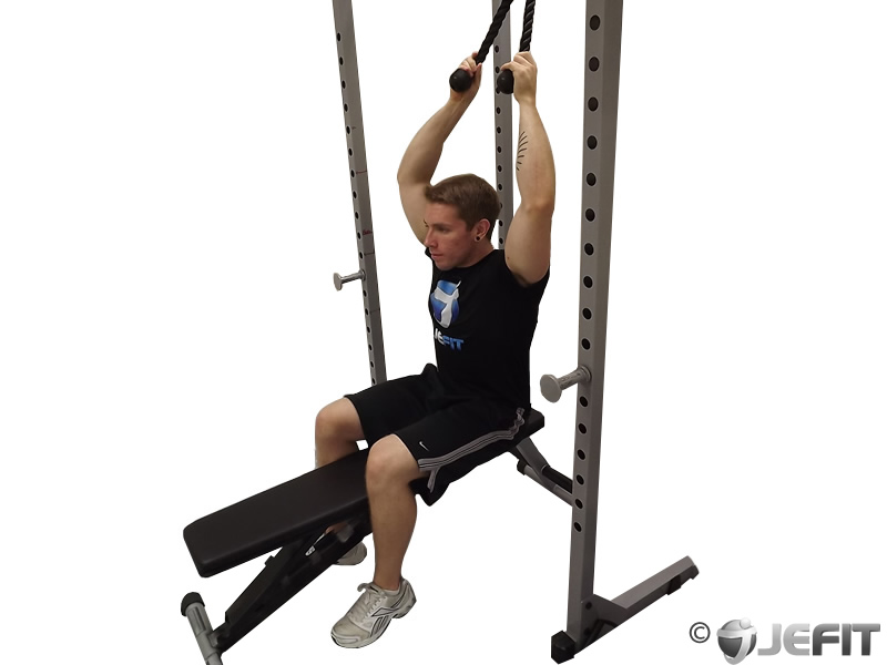 Cable Seated Crunch Exercise Database Jefit Best