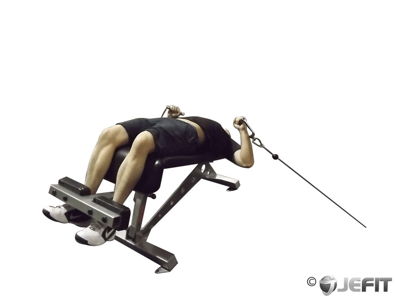 Cable Decline Press Exercise Database Jefit Best Android And