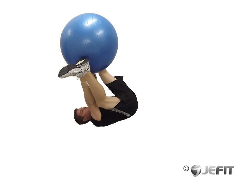 Exercise Ball Hand and Foot Exchange