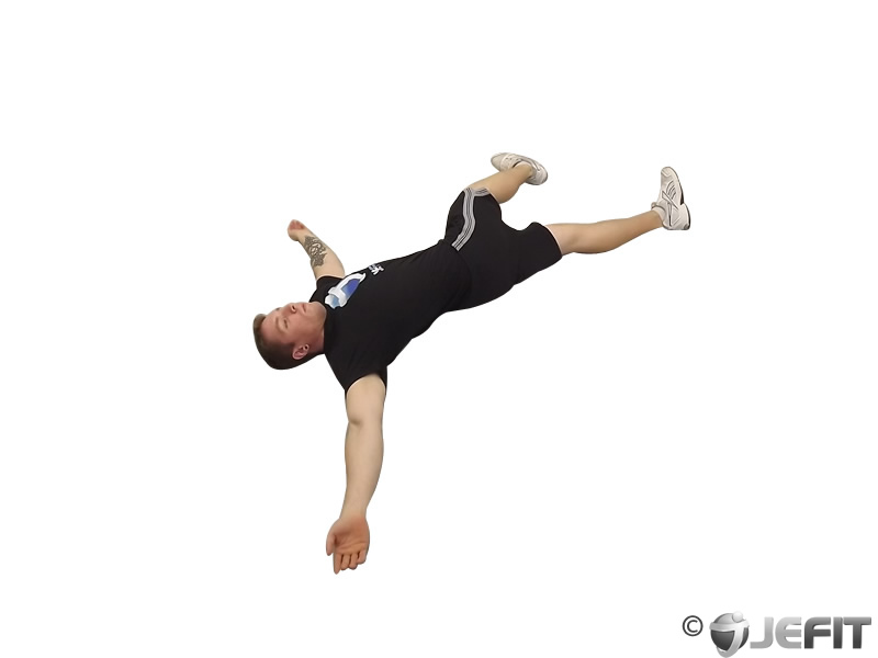Iron Cross Stretch
