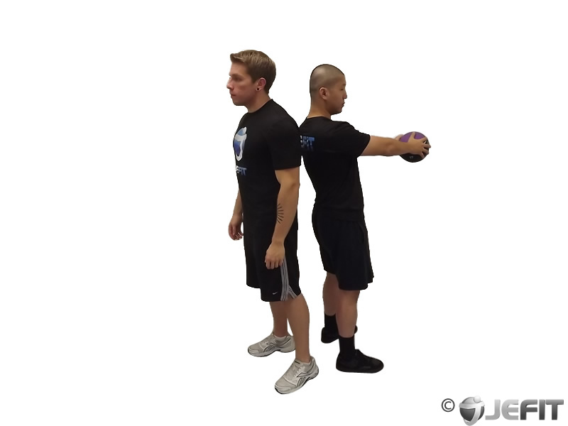 Medicine Ball Full Twist