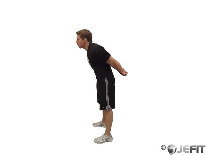 Standing Biceps Stretch - Exercise Database | Jefit - Best ...