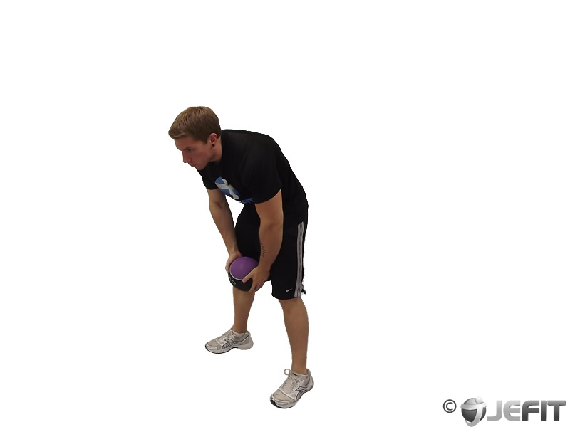 Medicine Ball Catch and Overhead Throw
