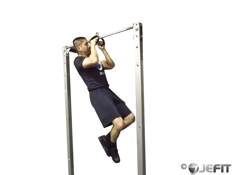 v bar pull up - exercise database
