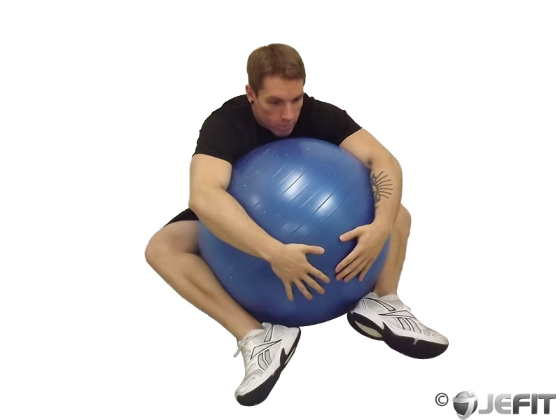 Exercise Ball Hug