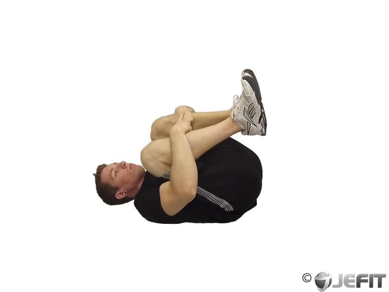 Hug Knees To Chest Exercise Database Jefit Best