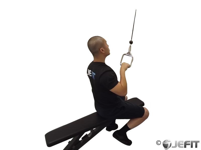 lats exercises machine