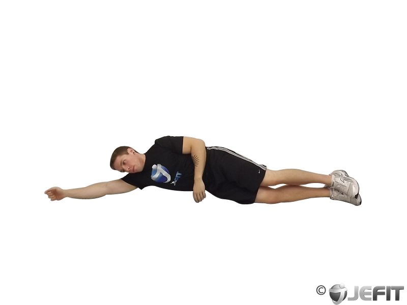 Side-Lying Floor Stretch