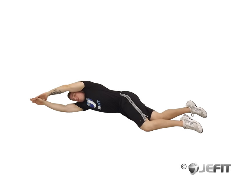 Side-Lying Floor Stretch - Exercise