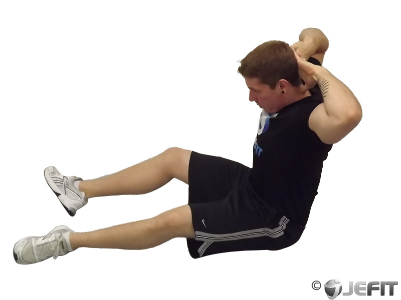 Behind Head Chest Stretch - Exercise Database   Jefit ...