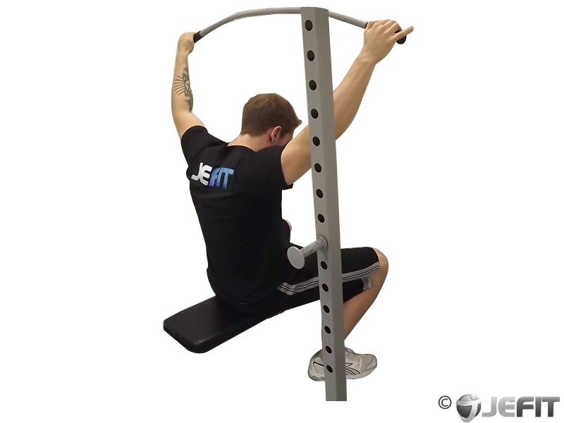 Wide Grip Pulldown Behind The Neck