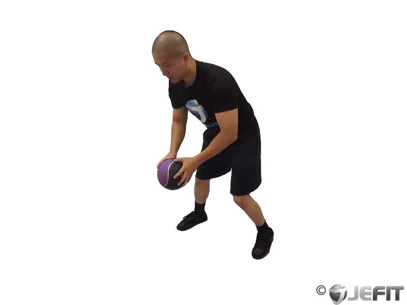 Medicine Ball Chest Push with Run Release