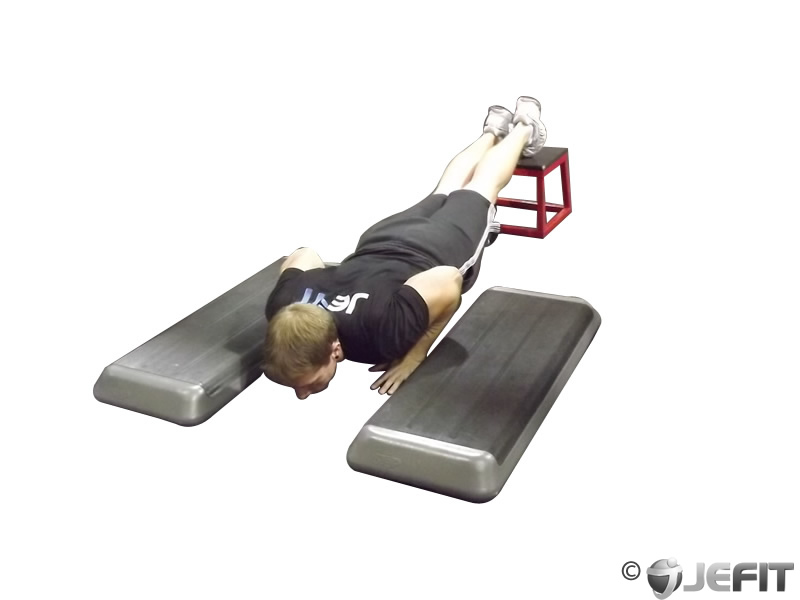 Incline Push Up Depth Jump
