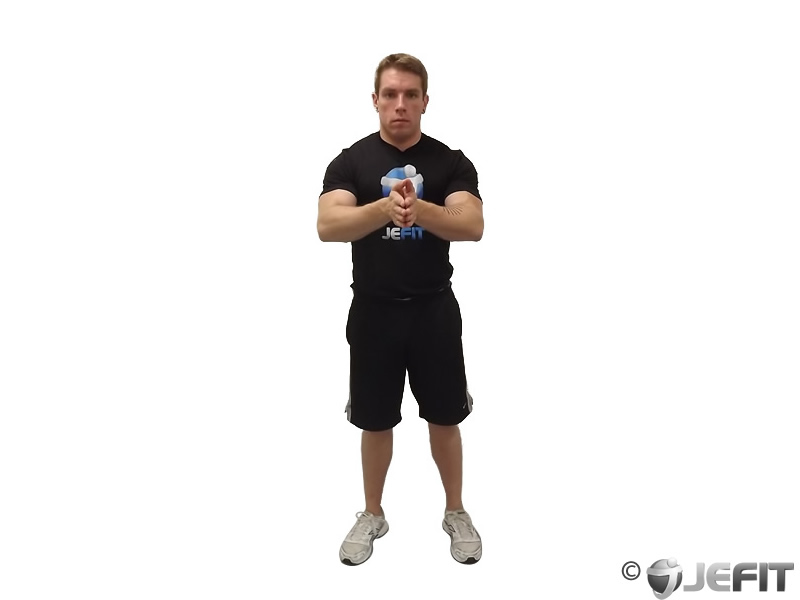 Isometric Chest Squeeze