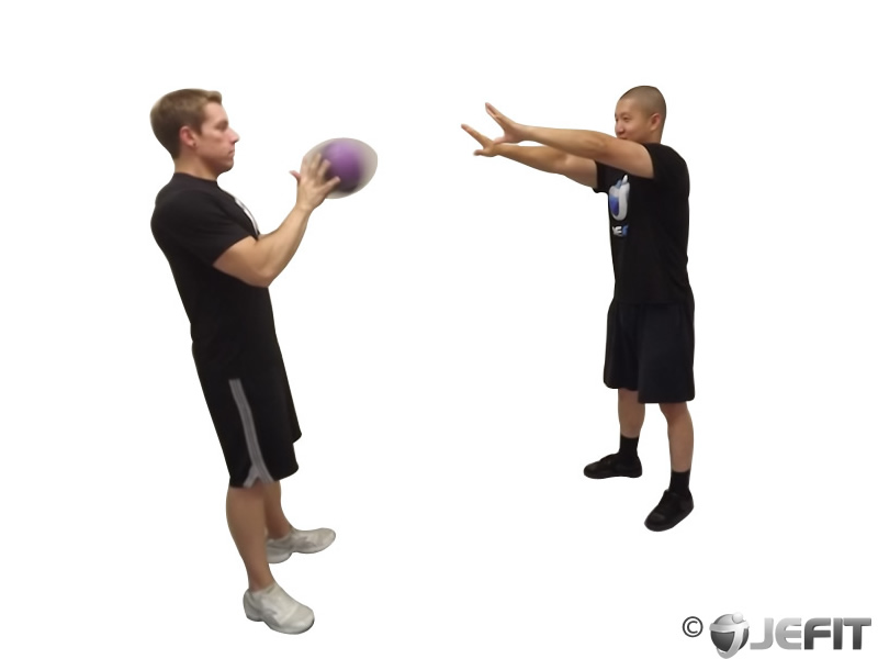 Medicine Ball Chest Pass - Exercise Database | Jefit ...
