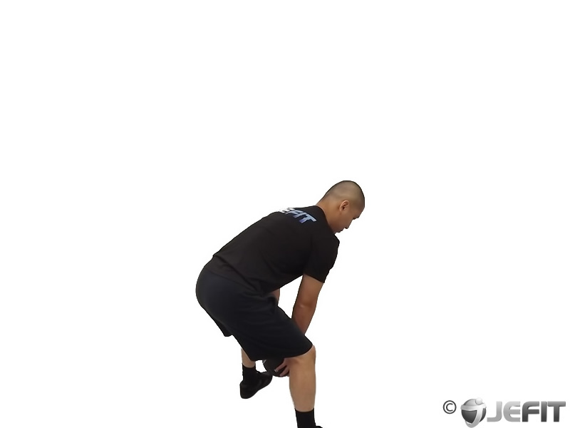 Medicine Ball Backward Throw