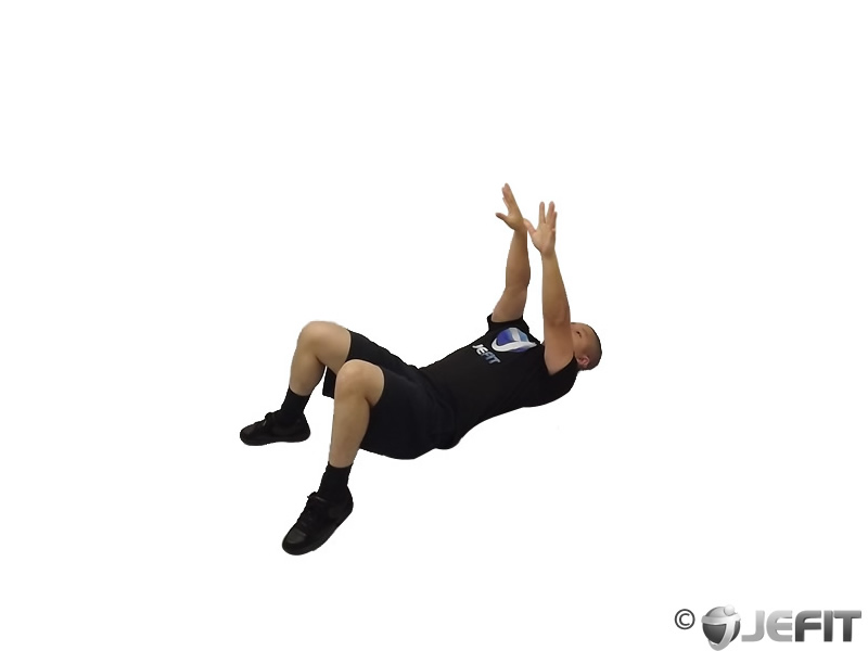 Medicine Ball Supine Chest Throw